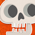 Daily Vector 016 - Skeleton