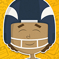 Daily Vector 153 - Football player