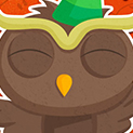Daily Vector 376 - Celebration Owl
