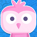 Daily Vector 602 - Pink Owl