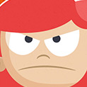 Daily Vector 616 - Angry girl
